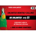 Unlimited International Calling - $5