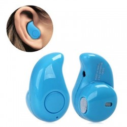 Mini Wireless Bluetooth Headset S530 (White, Blue, & Black)